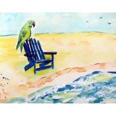 Parrot & Chair Place Mat Set Of 4