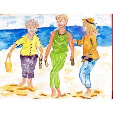 Grandma At The Beach Place Mat Set Of 4
