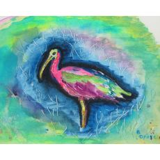 Glossy Ibis Place Mat Set Of 4
