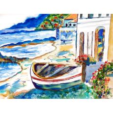 Sicilian Shore Place Mat Set Of 4