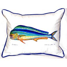 Dolphin Small Indoor/Outdoor Pillow 11X14