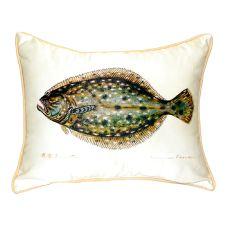 Flounder Small Indoor/Outdoor Pillow 11X14