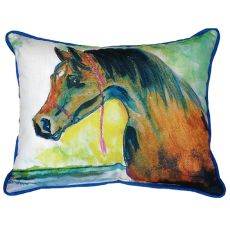 Prize Horse Small Indoor/Outdoor Pillow 11X14
