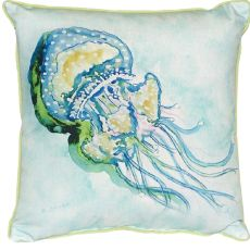Jelly Fish Small Indoor/Outdoor Pillow 12X12