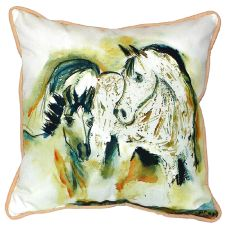 Mare & Colt Small Indoor/Outdoor Pillow 12X12