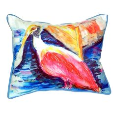 Spoonbill Small Indoor/Outdoor Pillow 11X14
