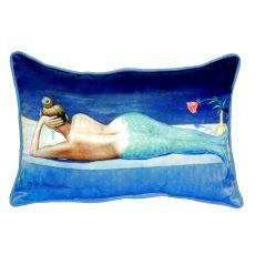 Mermaid Small Indoor/Outdoor Pillow 11X14