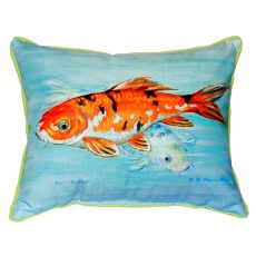 Koi Small Indoor/Outdoor Pillow 11X14