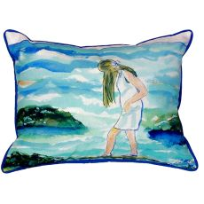 Mia On The Rocks Small Indoor/Outdoor Pillow 11X14
