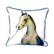 Horse & Garland Small Indoor/Outdoor Pillow 12X12