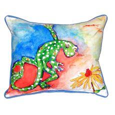 Gecko Small Indoor/Outdoor Pillow 11X14