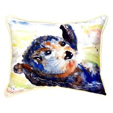 Otter Small Indoor/Outdoor Pillow 11X14