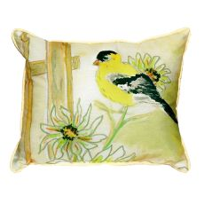 Betsy'S Goldfinch Small Indoor/Outdoor Pillow 11X14