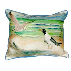 Seagulls Small Indoor/Outdoor Pillow 11X14