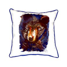Betsy'S Bear Small Indoor/Outdoor Pillow 12X12
