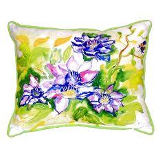 Clematis Small Indoor/Outdoor Pillow 11X14