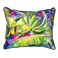 Bananas Small Indoor/Outdoor Pillow 11x14