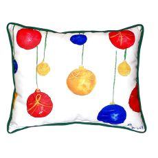 Christmas Ornaments Small Indoor/Outdoor Pillow 11X14
