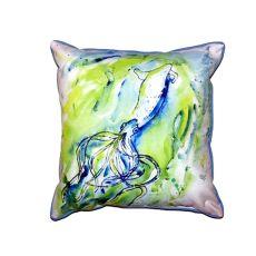 Calamari Small Indoor/Outdoor Pillow 12X12