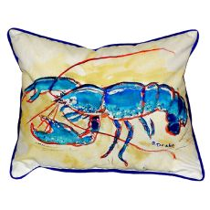 Blue Lobster Small Indoor/Outdoor Pillow 11X14
