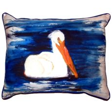 Spring Creek Pelican Small Indoor/Outdoor Pillow 11X14