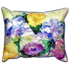 Watercolor Garden Small Indoor/Outdoor Pillow 11X14