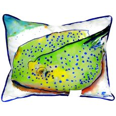 Stingray Small Indoor/Outdoor Pillow 11X14