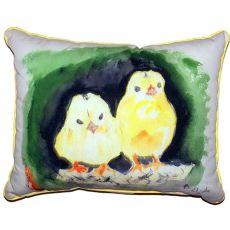 Chicks Small Indoor/Outdoor Pillow 11X14