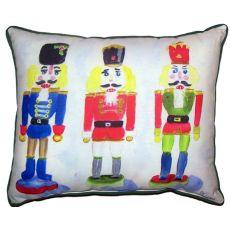 Nut Crackers Small Indoor/Outdoor Pillow 11X14