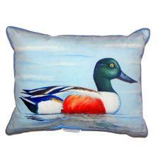 Northern Shoveler Small Indoor/Outdoor Pillow 11X14