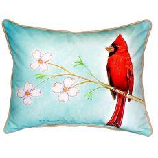 Dick'S Cardinal Small Indoor/Outdoor Pillow 11X14