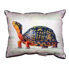 Happy Turtle Small Indoor/Outdoor Pillow 11X14