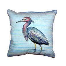 Dick'S Little Blue Heron Small Indoor/Outdoor Pillow 12X12