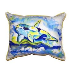 Orca Small Indoor/Outdoor Pillow 11X14