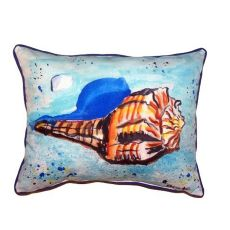 Amber Shell Small Indoor/Outdoor Pillow 11x14