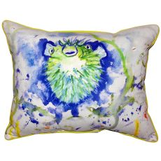 Spiney Puffer Small Indoor/Outdoor Pillow 11X14