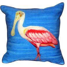 Dick'S Spoonbill Small Indoor/Outdoor Pillow 12X12