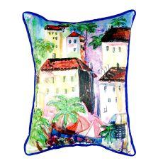 Fun City I Small Indoor/Outdoor Pillow 11X14