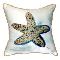 Betsy'S Starfish Small Indoor/Outdoor Pillow 12X12