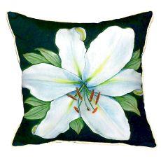 Casablanca Lily Small Indoor/Outdoor Pillow 12X12