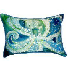Octopus Small Indoor/Outdoor Pillow 11X14