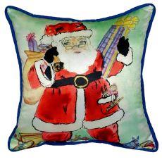 Santa Small Indoor/Outdoor Pillow 12X12