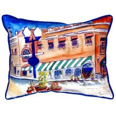 Canal Streetsmall Indoor/Outdoor Pillow 11X14