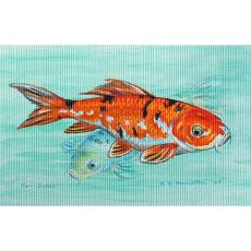 Koi Outdoor Wall Hanging 24X30