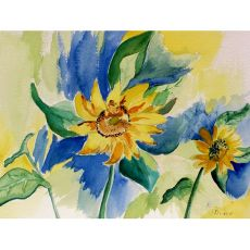 Sunflowers Outdoor Wall Hanging 24X30