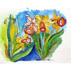 Daffodils Outdoor Wall Hanging 24X30
