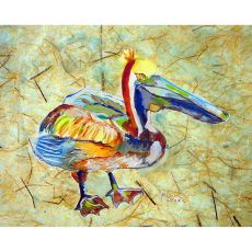 Heathcliff Pelican Outdoor Wall Hanging 24X30