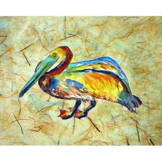 Gertrude Pelican Outdoor Wall Hanging 24X30