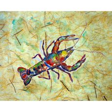 Crayfish Outdoor Wall Hanging 24X30