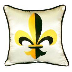 Fleur-De-Lis Extra Large Zippered Pillow 22X22